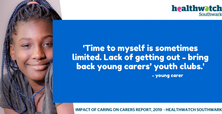 Young Carers Quote - youth clubs