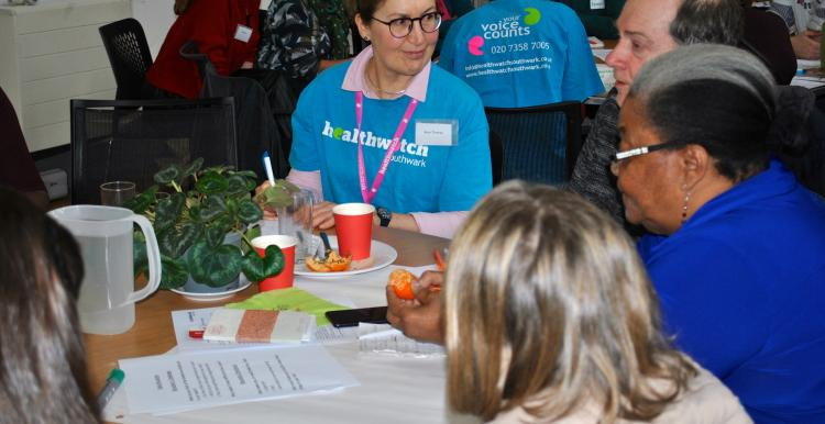 table discussion carers