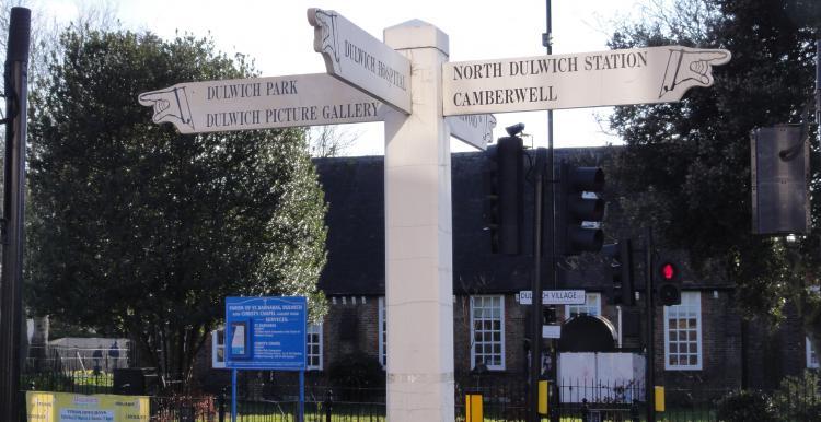 Dulwich signage