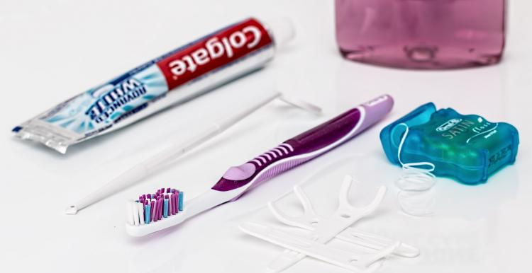 Image of oral hygiene products