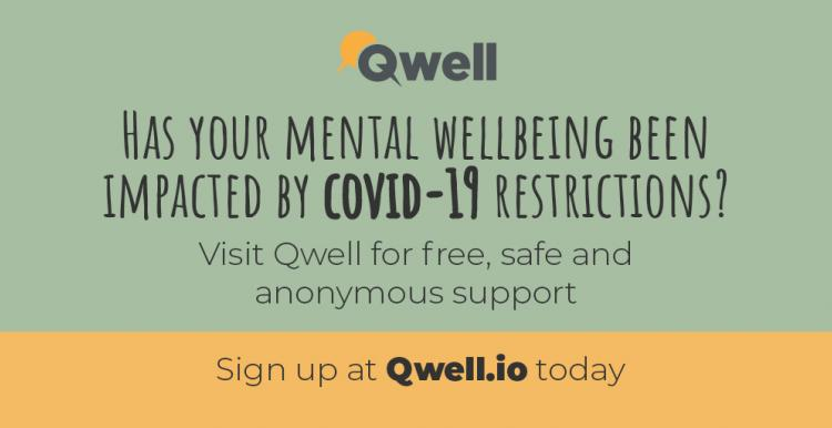 Qwell service poster