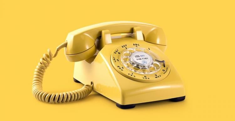 Image of yellow phone