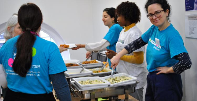 hot lunch serve healthwatch southwark