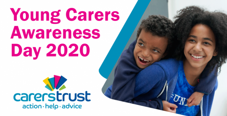 Young Carers awareness day banner