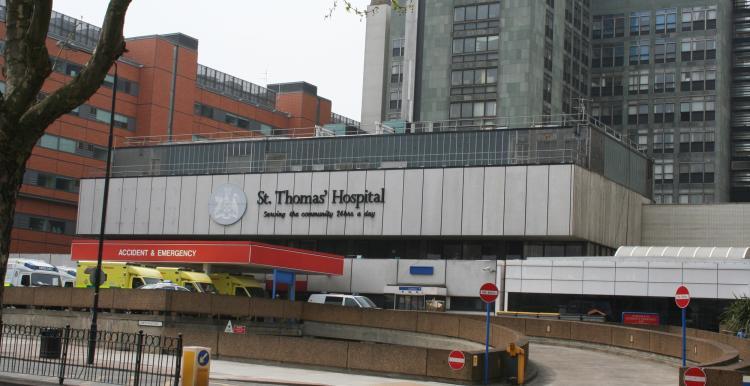 St Thomas' hospitalbuilding