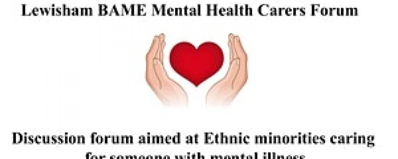lewisham carers mental health forum engagement BAME