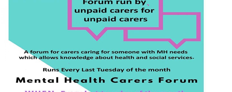 lewisham carers mental health forum engagement