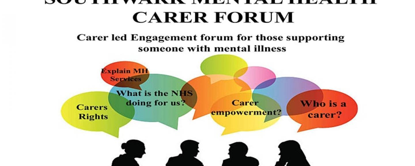southwark carers mental health forum engagement