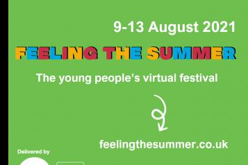Feeling the summer - festival flyer