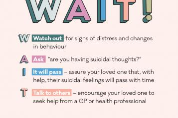 mental health foundation suicide prevention infographic