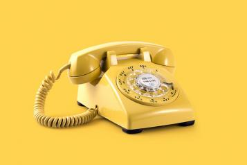Image of yellow phone