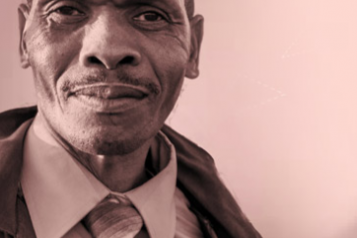 portrait of an older black gentleman