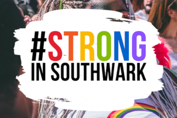 Strong in Southwark Logo