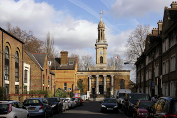 St Peters Church building in Walworth se17