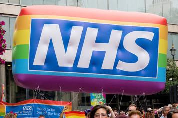 nhs sign in lgbtq pride  banner