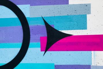 abstract graffiti art