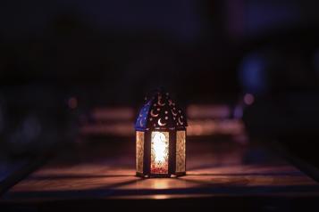 moon lantern ramadan