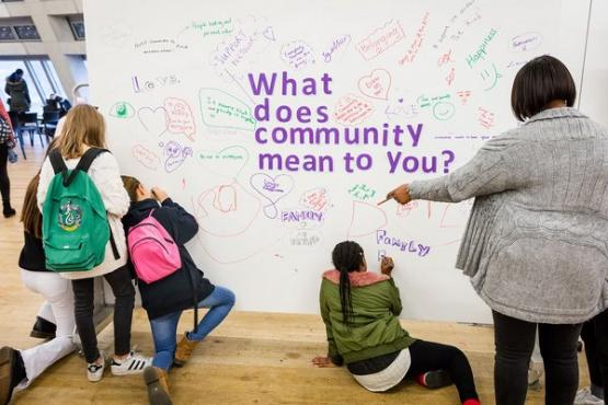 Community Southwark Showcase event at the Tate