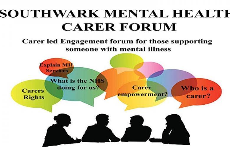 southwark carers mental health forum engagement